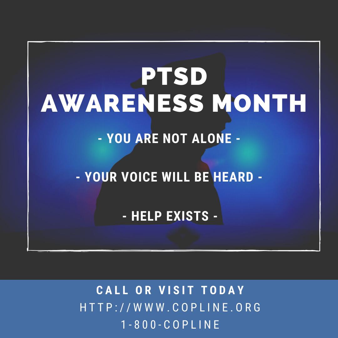 PTSD Awareness Month - Help Exists
